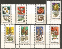 Rwanda 1975 Mi# 691-698 A ** MNH - Year of Agriculture