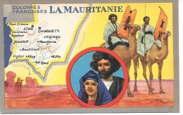 Les Colonies Françaises - LA MAURITANIE - Mauritania