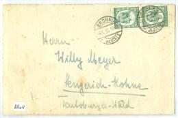 BRIEFOMSLAG Uit 1935 Van GRONAU Naar LENGERICH  DEUTSCHLAND (8808) - Deutschland