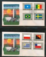 FDC UNO NEW YORK 1983,1984 - Ohne Zuordnung