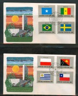 FDC UNO NEW YORK 1983,1984 - New-York - Siège De L'ONU