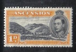 W1501 - ASCENSIONE , Giorgio VI Il N. 40  *  Mint - Ascensione