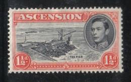 W1502 - ASCENSIONE , Giorgio VI Il N. 41  *  Mint - Ascensione
