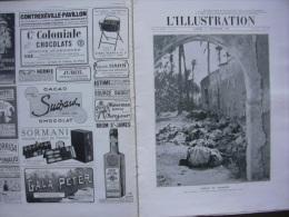 L'ILLUSTRATION 3585 TRIPOLI/ MAROC/ MME CURIE/ 3 MATS HANSY/ PLANEUR  11/11/1911 - Journaux - Quotidiens