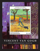 MICRONESIA ; IGPC 1303 S ; MINT N H STAMPS ( PAINTINGS ; VINCENT VAN GOGH - Micronesia