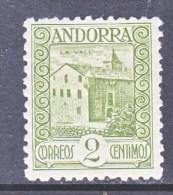 SPANISH  ANDORRA  13   * - Spanish Andorra