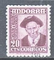 SPANISH  ANDORRA  40    (o) - Spanish Andorra