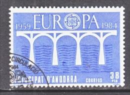 SPANISH  ANDORRA  163    (o)   EUROPA   BRIDGE - Spanish Andorra