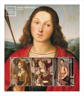 MICRONESIA ; IGPC 1407 SH* ; MINT N H STAMPS ( FAMOUS PAINTINGS - Micronesia