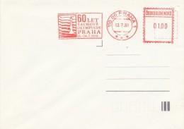 I6683 - Czechoslovakia (1991) 110 00 Praha 1: 60 Years Of Chess Olympiads Praha, 1931 - Scacchi