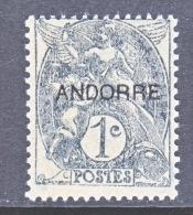 FRENCH  ANDORRA  1  * - French Andorra