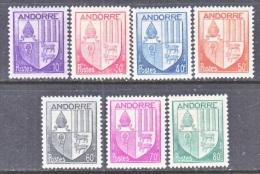 FRENCH  ANDORRA  78-84  * - French Andorra