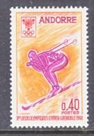 FRENCH  ANDORRA  181  *   OLYMPICS   SKIING - French Andorra