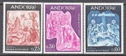 FRENCH  ANDORRA  192-4  **  RELIGION  ST. JOHN - French Andorra