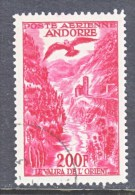 FRENCH  ANDORRA  C 3    (o) - Airmail