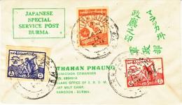 BURMA  PHILATELIC  FORGERY  COVER - Burma (...-1947)