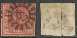 Deutsches Reich Bayern Bavaria 1858 Michel 6 O Signed - Bayern