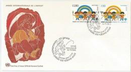 Nations Unies - Genève 1979 83 - 84 FDC - Année Internationale De L´ Enfant - Childhood & Youth