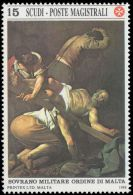 Sovereign Military Order Of Malta 1988 Masters Of Painting. Caravaggio, Unmounted Mint. - Malte (Ordre De)