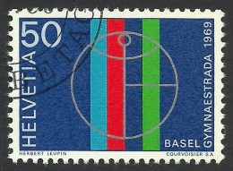 Switzerland, 50 C. 1969, Sc # 498, Mi # 898, Used - Used Stamps