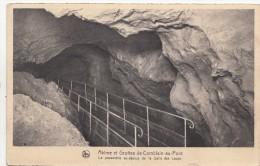 BF19271 La Passe Abime Et Grottes De Comblain Au Pont  Belgium  Front/back Image - Comblain-au-Pont