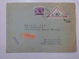 Hungary -Cover - 1953 - Budapest Szeged - Expressz  Tänzer Mór  Ganz Waggon Gyár   J1213.12 - Hungría