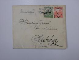Hungary Cover - Sent To MÓRÁGY  1917 -Tolna    Bonyhád   J1213.13 - Brieven En Documenten