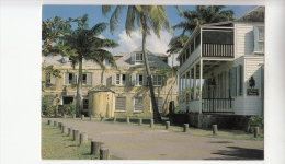 BF18845 Museum And Copper Lumber Store Antigua  Front/back Image - Antigua & Barbuda