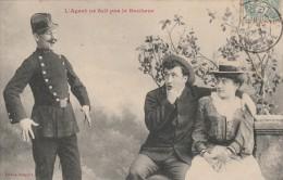 L'Agent Ne Fait Pas Le Bonheur. - Police - Gendarmerie