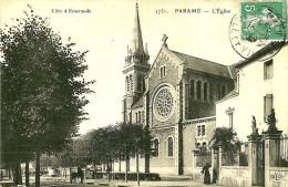 Parame. Rue De La Gardelle Et L'église. - Parame