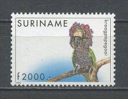 SURINAM  1996  N� 1387 ** Neuf = MNH Superbe  Cote 18.50 � Faune oiseaux Perroquet birds fauna Animaux