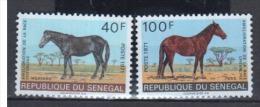 SENEGAL    1971                N°    343  / 344       COTE   6 € 75         ( D 111 ) - Senegal (1960-...)