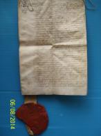 MANUSCRIT  1768 de MARIE - THERESE  D ' AUTRICHE avec son SCEAU de 12 CM de diam�tre ..-- 12 scans .