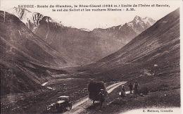 B 1492  64Savoie, Route Du Glandon Le Riou Claret (petite Déchirure Gauche) - France