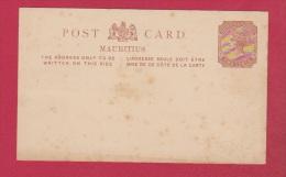 MAURITIUS  //  Entier Postal  //   Vierge - Maurice (...-1967)