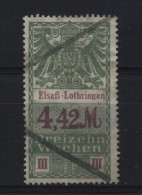 TIMBRES FISCAUX / SOCIO POSTAUX / ALSACE LORRAINE / N° 47 / 13 SEMAINES - Revenue Stamps