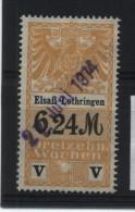TIMBRES FISCAUX / SOCIO POSTAUX / ALSACE LORRAINE / N° 33 / 13 SEMAINES - Revenue Stamps