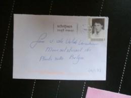 43/573  BRIEF NAAR BELGIE - Periode 1980-... (Beatrix)