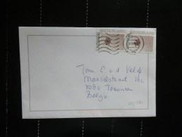 43/574  BRIEF NAAR BELGIE - Periode 1980-... (Beatrix)