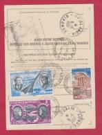 Ordre De Réexpédition  De St Savin  //   Pour St Yzan De Soudiac  //   1981 - Postdokumente