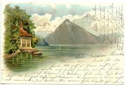 Tellskapelle, LITHO, Vierwaldstättersee, Wilhelm Tell, 1902 - Schweiz