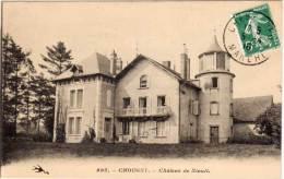 CHOUGNY - Chateau De Niault   (70347) - Autres Communes