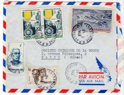 MADAGASCAR - LETTRE Pour Paris Le 08/06/1953 - Madagascar (1889-1960)