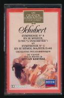 Cassette Audio : SCHUBERT, Symphonie N° 8 Et Symphonie N° 5, Orchestre Philarmonique De Vienne, Istan Kertesz - Cassettes Audio