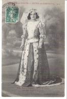 CHALON Sur SAONE : Fétes Du Carnaval 1914 ,Melle Marie Fréby Reine De Chalon(maison Guillon Et Jacob). - Chalon Sur Saone