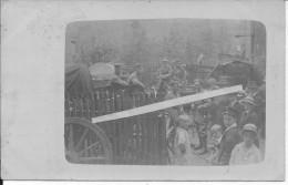 Luxembourg 1914 Soldats Allemands Du I.R 168 18è Res.armee Korps Avec Enfants Et Civils 1 Carte Photo 14-18 Ww1 WwI Wk - Guerra, Militari