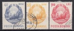 ROEMENIË - Michel - 1967 - Nr 2631/33 - Gest/Obl/Us - 1948-.... Repúblicas