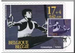K59 Carte Maximum 3013 - Sports - Championnats Du Monde De Gymnastique - Gymnastiek