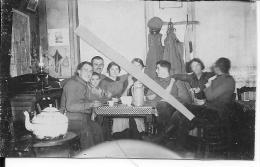 Saint-léger Pas De Calais Nord Février 1916 Occupation Soldats Allemands Avec Des Femmes 1 Photo 14-18 Ww1 WwI Wk - War, Military