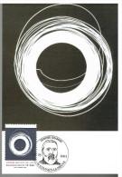 K72 Carte Maximum 2978 - Zénobe Gramme (évocation Graphique Du Mouvement De La Dynamo) - Electricité